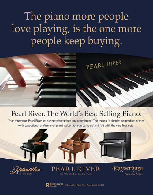 The piano more people love playing